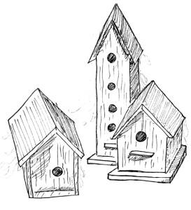 dusty-birdhouses