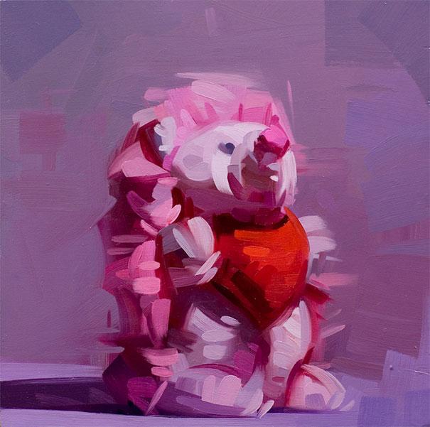 Dik-Liu_Pink-Painting